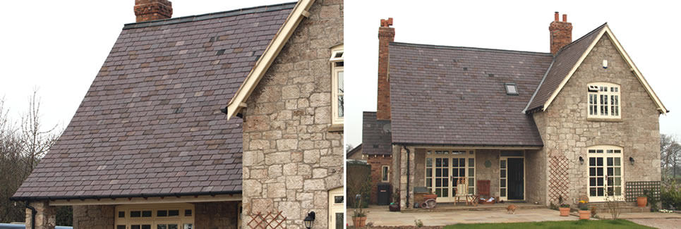slate roofs north wales flintshire